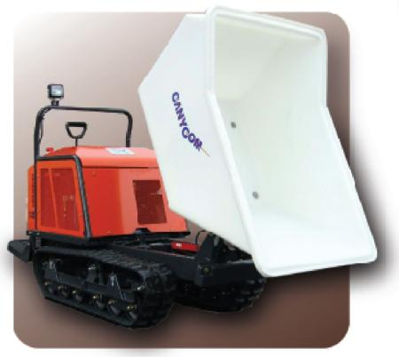 Canycom Rubber Track Concrete Buggy Thompson Rental Services